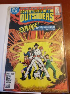 Adventures of the Outsiders #40 (1986)