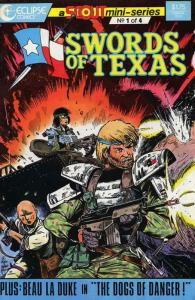 Swords of Texas #1 FN; Eclipse | save on shipping - details inside