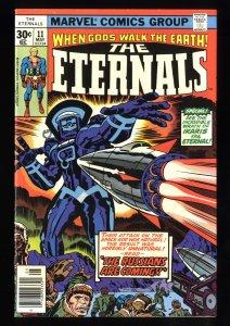 Eternals #11 VF- 7.5 1st Duig and Kingo Suen!