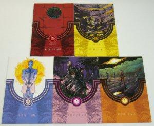 Roche Limit: Clandestiny #1-5 VF/NM complete series - sci fi space colony set