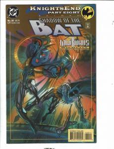 11 Shadow Of The Bat DC Comic Books # 30 31 32 33 34 35 36 37 38 39 0 DB12