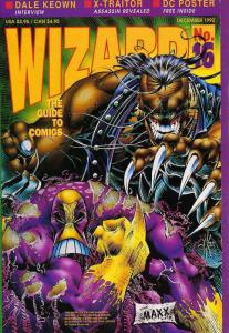 Wizard: The Comics Magazine #16 FN; Wizard | save on shipping - details inside