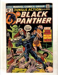 Jungle Action # 9 FN/VF Marvel Comic Book Black Panther Wakanda Vibranium FM5