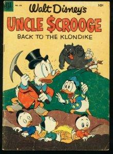 UNCLE SCROOGE-FOUR COLOR COMICS #456-WALT DISNEY-DELL-CARL BARKS G/VG