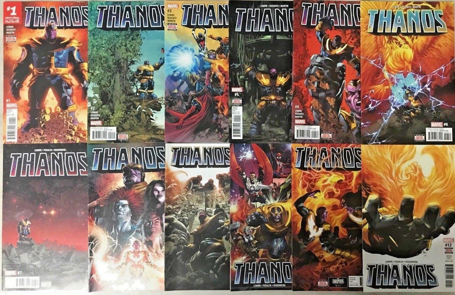 Marvel Comics Thanos #3 2017 NM