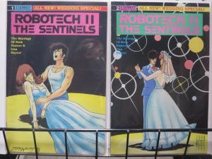 ROBOTECH II: THE SENTINELS WEDDING SPECIAL (Eternity,1989) #1-2 Rick & Lisa
