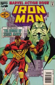 Marvel Action Hour featuring Iron Man #5, NM + (Stock photo)