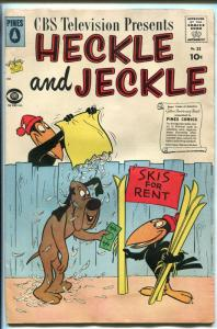 HECKLE AND JECKLE #33 1959-PINES-CBS-TV CARTOONS-vg
