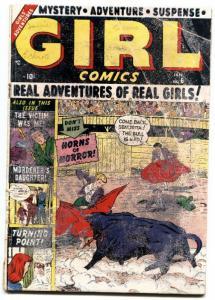 GIRL COMICS #6 1950-MARVEL ROMANCE-SUSPENSE-HORROR