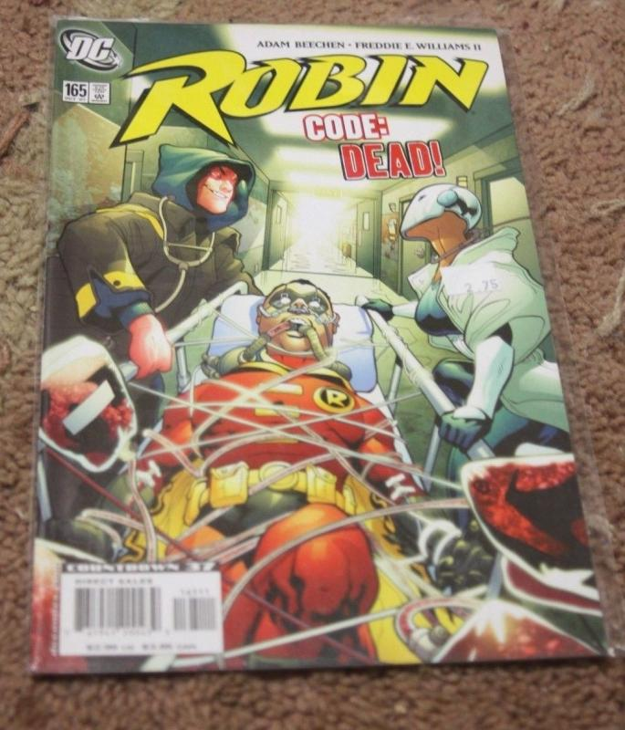Robin comic  # 165 (Oct 2007, DC) tim drake