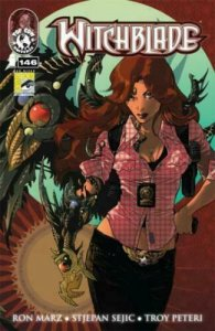 WITCHBLADE # 146 SDCC San Diego  VARIANT NM.