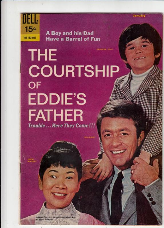 Courtship Of Eddie's Father, The #1 (Jan-70) VF High-Grade Eddie, Eddie's Fat...