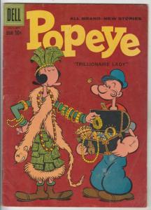 Popeye #49 (Jul-59) FN Mid-Grade Popeye, Olive Oil, Swee'pea, Whimpy