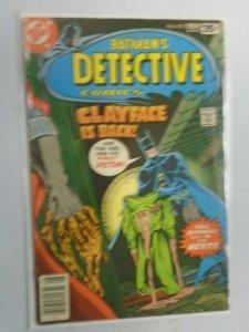 Detective Comics #478 4.0 VG (1978 1st Series)