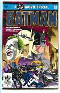 Batman: Official Motion Picture Adaptation 1989   Joker origin  NM-
