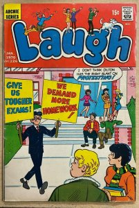 LAUGH #226 (Archie,1/1970) VERY GOOD-FINE (VG-F)  Rare-ish Dilton Cover