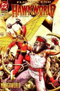 Hawkworld (1990 series) #30, NM- (Stock photo)