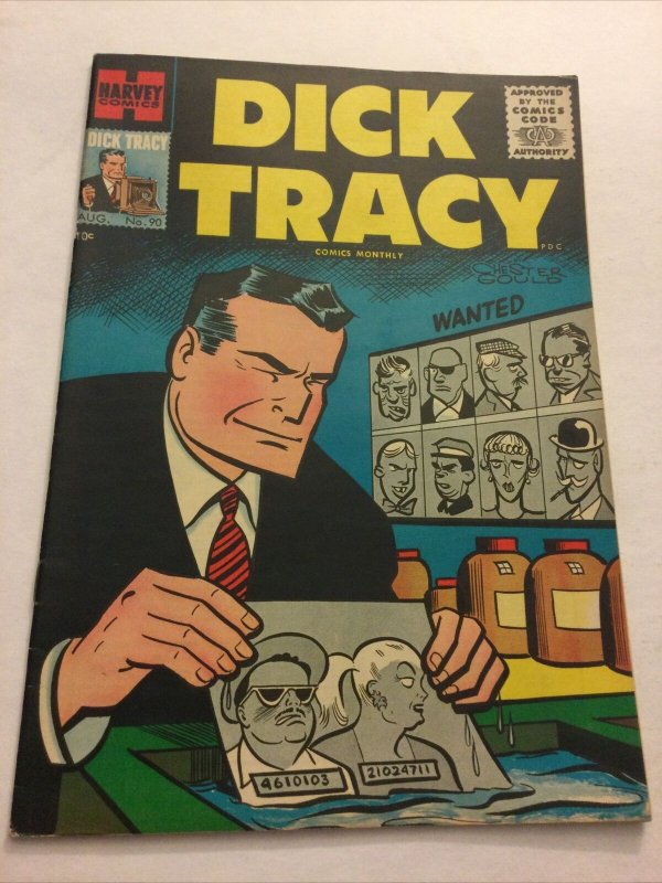Dick Tracy 90 Nm- Near Mint- Harvey Comics