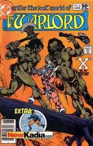Warlord (1976 series) #46, Fine+ (Stock photo)