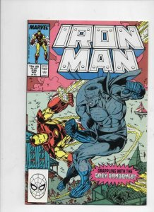 IRON MAN #236, VF/NM Tony Stark, Grey Gargoyle, 1968 1988, more IM in store, Mar