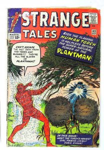 Strange Tales (1951 series) #113, Good+ (Actual scan)