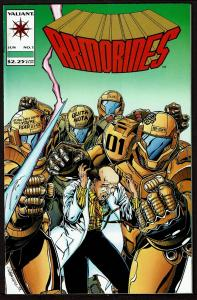 Armorines #1   9.0 VF/NM