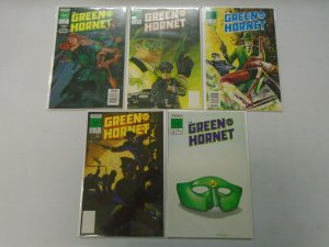 Green Hornet run #1-5 8.0 VF (1989-90 NOW Comics)
