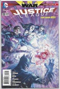 Justice League (vol. 2, 2011) # 23 VF (Trinity War 6) Johns/Reis