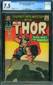 Journey into Mystery #125 (Marvel, 1966) CGC 7.5 VF