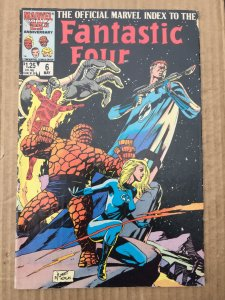 The Official Marvel Index to the Fantastic Four #6 (1986)