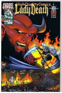 LADY DEATH : COVENANT #11, VF/NM, Hughes, Pulido, 1998, more LD in store
