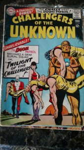 Challengers of the Unknown #48 (DC, 1966) Condition VG