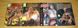 Doc Savage: the Man of Bronze #1-4 VF/NM complete series - pulp hero set 2 3