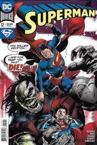 Superman (2018 series) #12, NM + (Stock photo)
