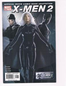 X-Men 2 Movie # 1 NM Marvel Comic Book Official Adaptation Storm Mystique S80