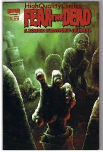 FEAR the DEAD : ZOMBIE SURVIVOR'S GUIDE, NM, Undead, 2006, Walking Dead,Horr