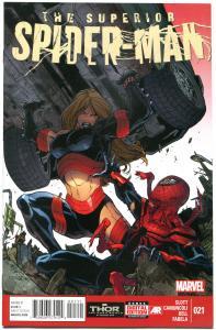 SUPERIOR SPIDER-MAN #21, VF/NM, Dan Slott, Marvel, LethaLadies, more SM in store