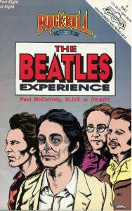 THE BEATLE'S EXPERIENCE # 8 of EIGHT - ROCK N ROLL COMIC