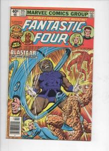 FANTASTIC FOUR #215, FN, Blastaar, Sinnott, 1961 1980, Marvel, more FF in store