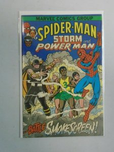 Spider-Man Storm and Power Man #1 4.0 VG (1982)