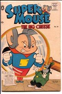 Super Mouse #38 1957-Pines-Gene Fawcette art-VG