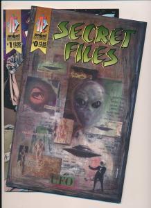 SECRET FILES #0,1 Angel Entertainment (1996) ~ VF (PF260)