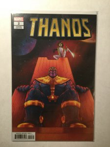 Thanos 2 Near Mint Nm Bartel Variant Marvel