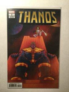 Thanos 2 Near Mint Nm Bartel Variant Marvel