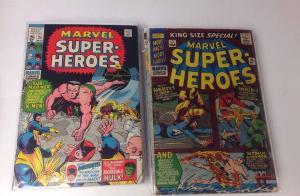 Marvel Super Heroes 25 27-31 32 37 39-43 45 46 48-53 56-59 63 64 69 70 Annual 1