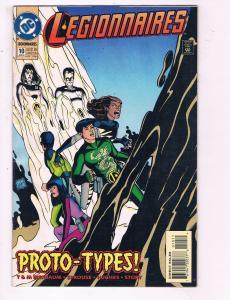Legionnaires #10 VF DC Proto-Types Comic Book Bierbaum Saturn Girl 1994 DE9
