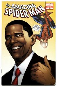 Amazing Spider-man #583-2nd Print-obama variant-nm