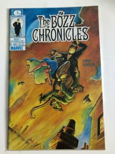 THE BOZZ CHRONICLES #1 1985 EPIC COMICS / NEVER READ / NM-/NMCONDITION