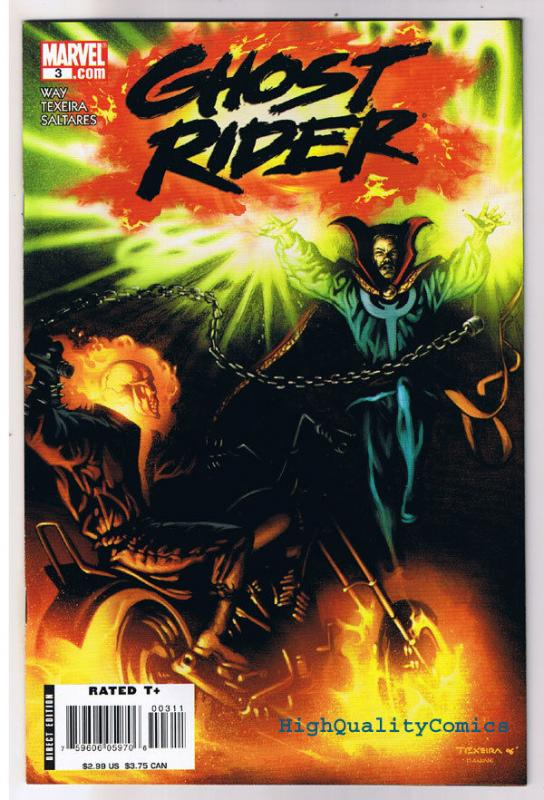 GHOST RIDER #3, NM, Dr Strange, Mark Texeira, 2006, Doctor, more GR in store