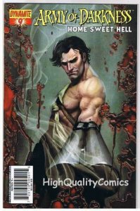 ARMY of DARKNESS : Home Sweet Hell #9, NM, Sejic, 2007, more AOD in store